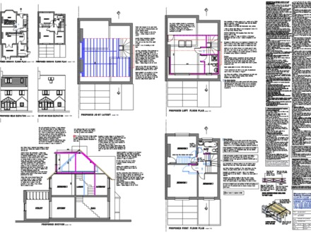 Dormer Loft Conversion Plans Dormer Extension for Patio