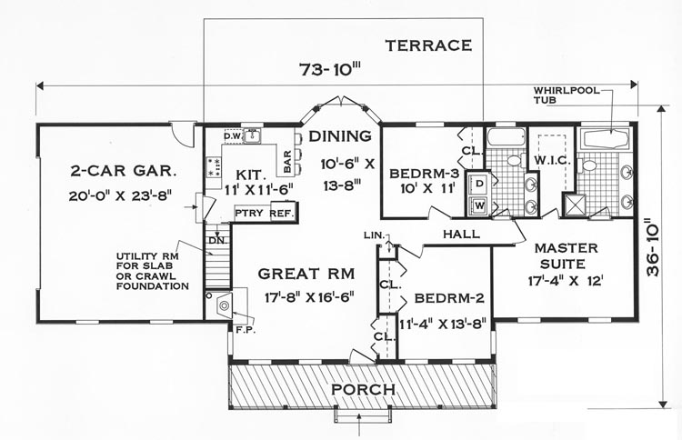 Elevator 3rd floor simple one story floor plans home for Elevator floor plan