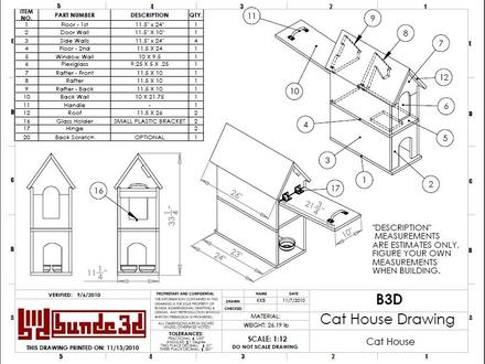 Feral Cat House Plans Cat House Building Plans