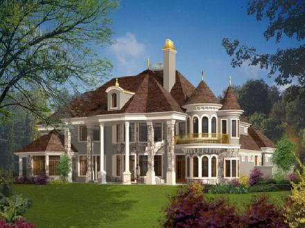 French-inspired House Plans French Style House Plans