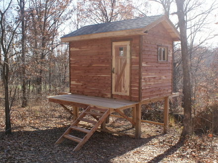 Hunting Cabin Plans and Ideas Deer Hunting Cabin Plans