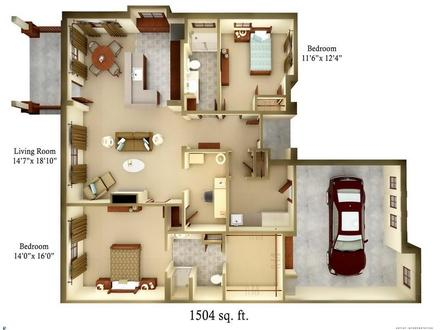 Idea Small Cottage Floor Plans Small Cottage Gardens