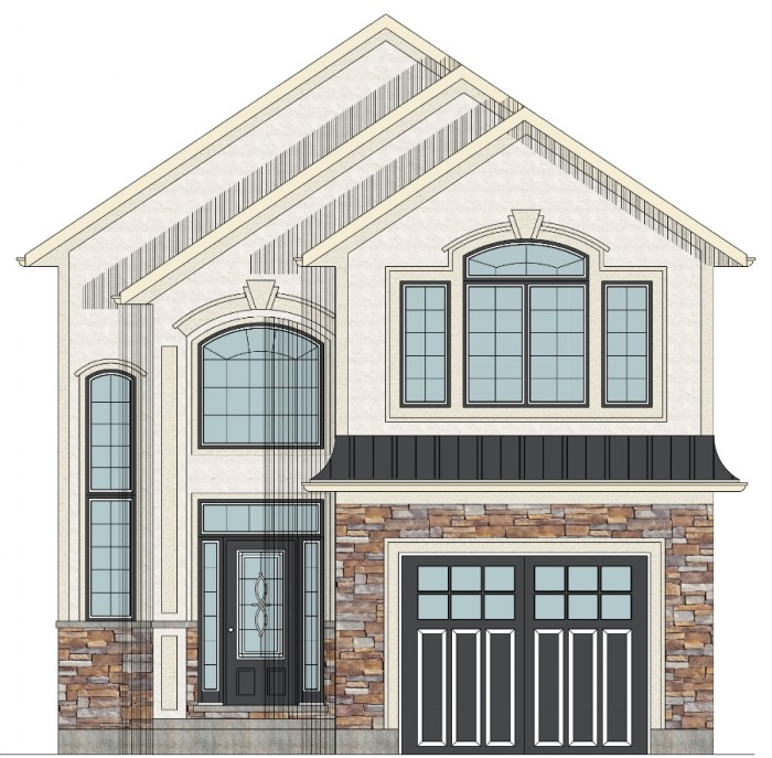 Inexpensive Two-Story House Plans Two Storey House Plans