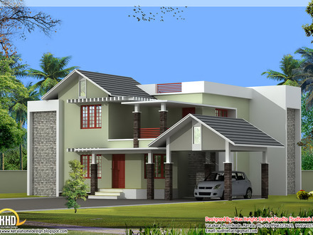 Kerala House Designs and Plans Kerala House Plans with Modern
