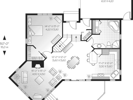 Lake house plans lake house open floor plans lakehouse for Lake front house plans