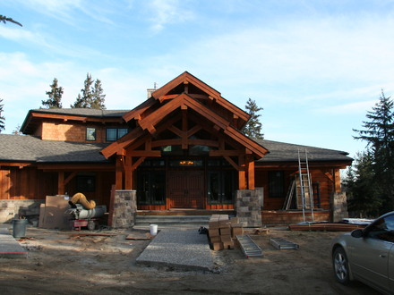 Log Homes Timber Frame Log Stone Timber Frame Homes