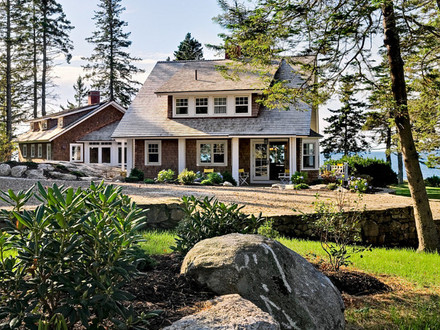 maine cottage home plans Cottages Bayside Maine