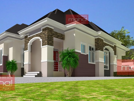 Modern Nigeria Bungalow House Design Bungalow House Plans with Porches