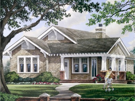 Modern One Story House Plans One Story House Plans with Porches