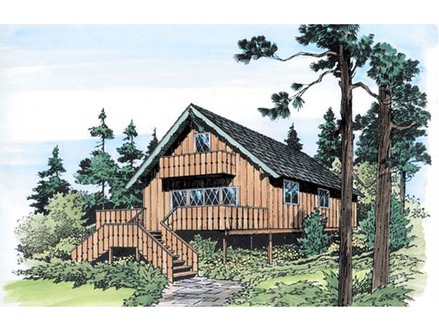 Modern Rustic Homes Big River Rustic Vacation Home Plan 038D 0767 House Plans and More