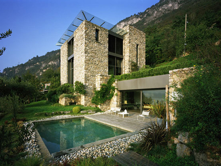 Modern Stone House in Italy Small Stone Cottages