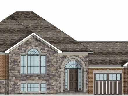 Raised Bungalow House Plans Raised Bungalow Canadian House Plans