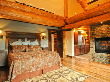 Red Cedar Tree Western Red Cedar Ranch Style Log Home
