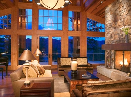 Rustic Country Living Great Rooms Country Living Outdoors