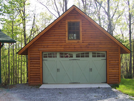 Timber framed buildings in ny timber framed garages log for Rv garage with apartment