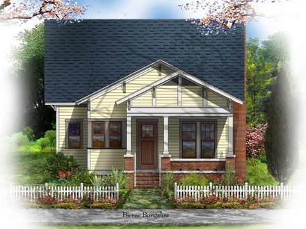Single Storey Bungalow House Plans Historic Bungalow House Plan