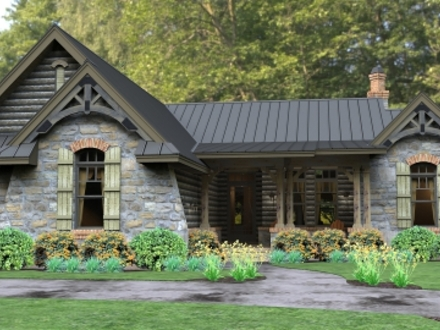 Single Story Cottage House Plans Single Story Homes