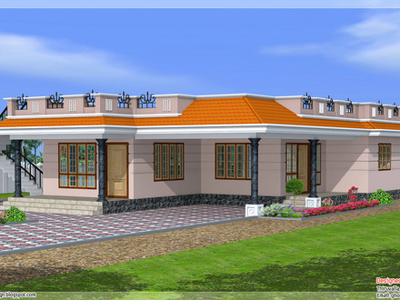 Single Story House Curb Appeal Single Story Exterior House Designs