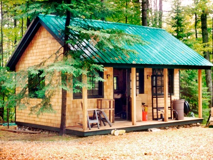 Small Cabins Tiny Houses Tiny Cottage House Plans