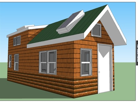 Small Cabins to Build Tiny Green Cabins