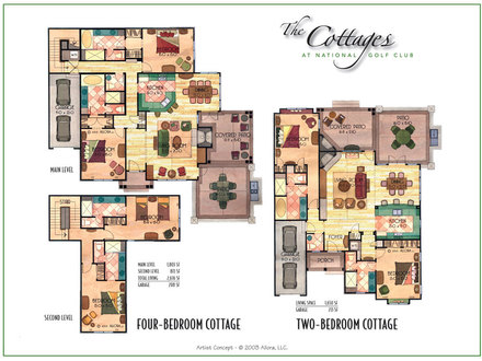 Small Cottage Floor Plans Large Cottage Floor Plan