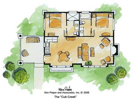 Small House Plans Rustic Cabin Stone Mountain Cabin Plans