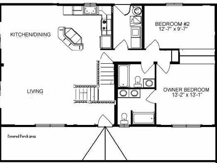 Small Rustic Cabins Small Rustic Cabin Floor Plans