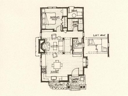 Storybook Cabin Floor Plans Inexpensive Small Cabin Plans
