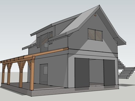 Timber Frame Garage Plans Timber Frame Cabin Plans