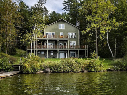 Traditional Lake House Exterior Exterior Home House Beautiful