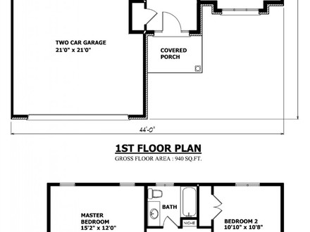 Two Storey House Plans Simple Two-Story House Plans