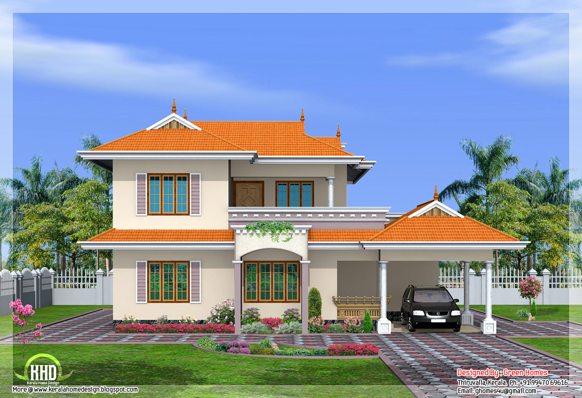 View front house designs indian style house design indian for House plans indian style