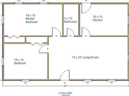 1000 Square Foot House Plans 500 Square Foot House