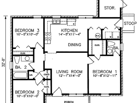1100 square feet house plans floor plans 1100 square feet for 1100 sq ft home plans