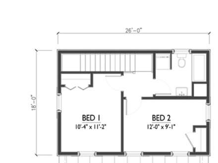 1200 Sq FT 3 Bedroom 2 Bath Floor Plans Cottage House Plans 1200 Sq FT