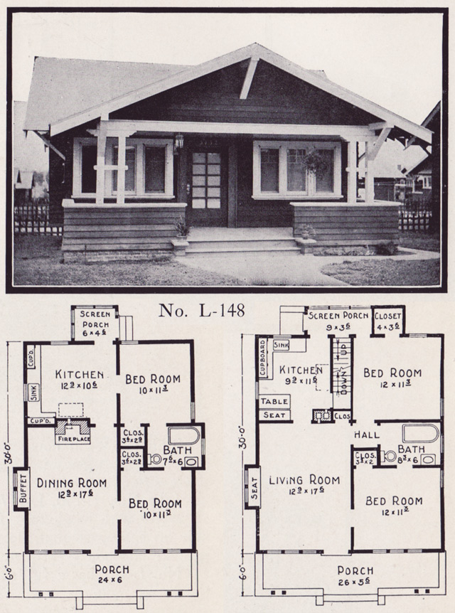 1910 craftsman bungalow kitchens 1920s craftsman bungalow for 1920 house plans