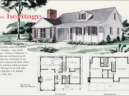 1960s Style House Plans 1960s Floor Plans for Houses