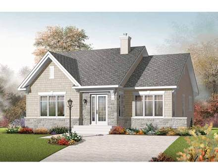 2 Bedroom Bungalow House Plans 2 Bedroom House Plans