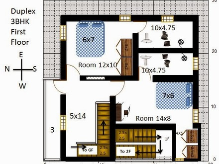 2 Bedroom Floor Plans 30X30 30X30 House Floor Plans