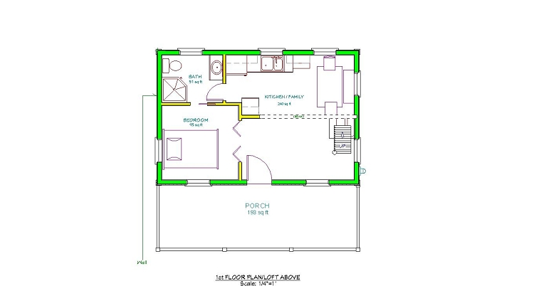24 x 36 cabin plans 16 x 24 cabin with loft floor plans for 24x36 floor plans