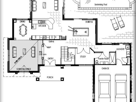 4 Bedroom House Plans Blueprints House Plans Blueprint