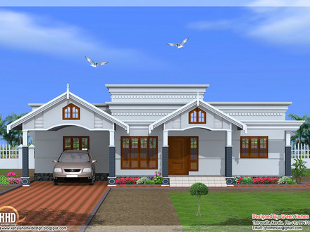 4 Bedroom House Plans Kerala Style 4-Bedroom Ranch House Plans