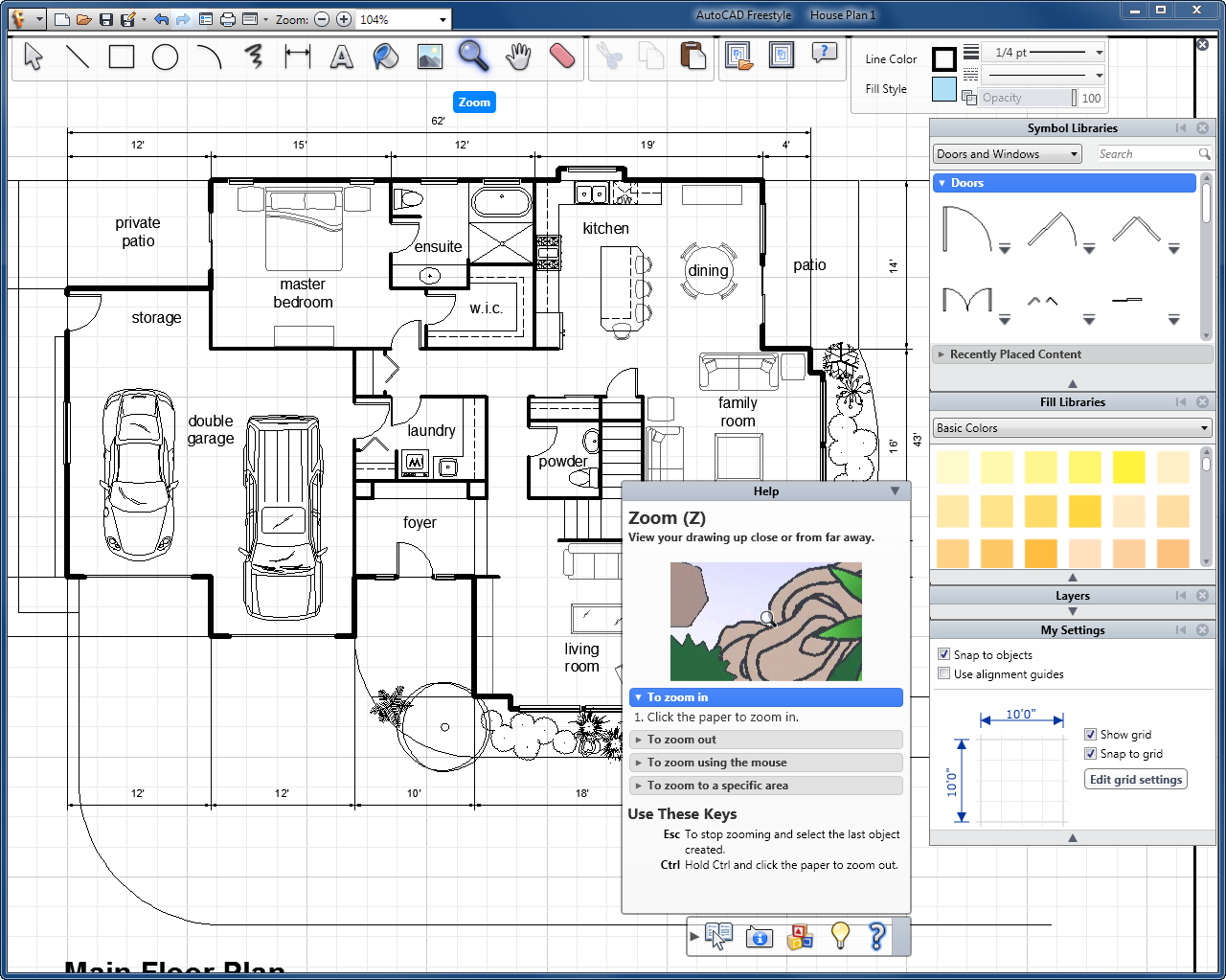 Autocad floor plan templates house plans with autocad for Autocad floor plan samples