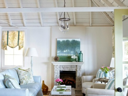 Beach House Cottage Style Furniture Beach Cottage Wall Ideas