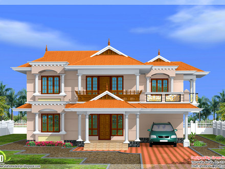 Indian style house plans indian house plans home designs for Beautiful model house