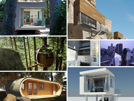 Best Modern Tiny Houses Two-Story Tiny House