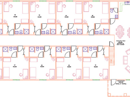Camp house floor plans camp foster okinawa floor plans for Floor plans boston college