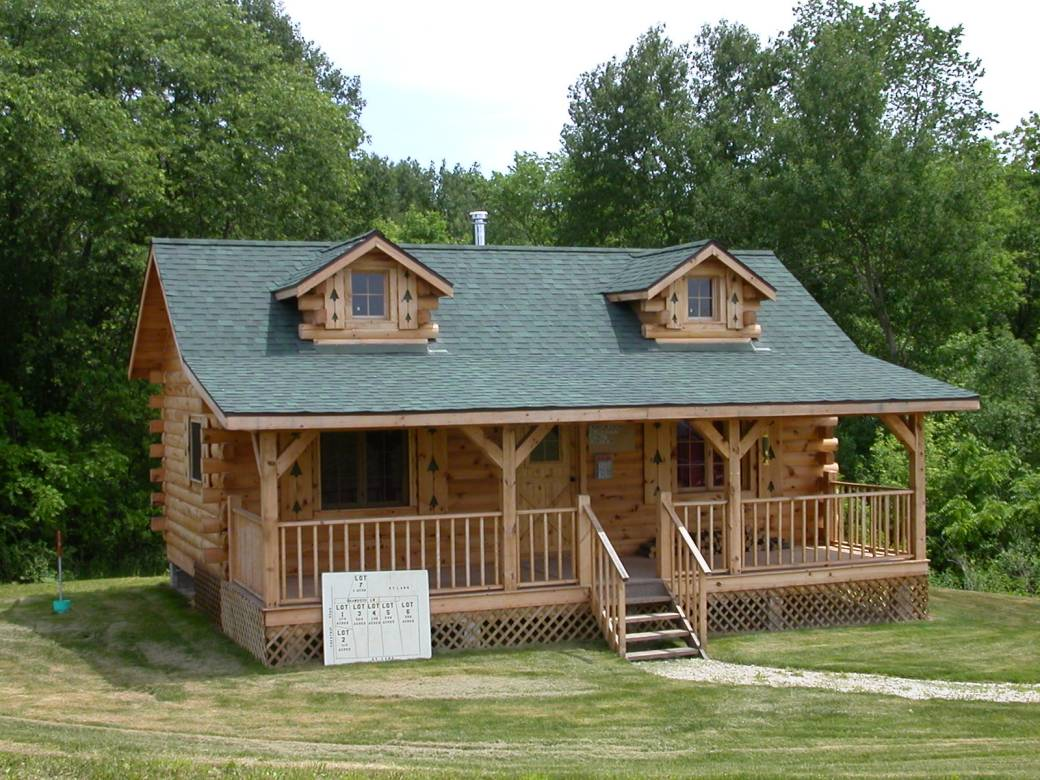 Build Log Cabin Homes Pre-Built Log Cabins
