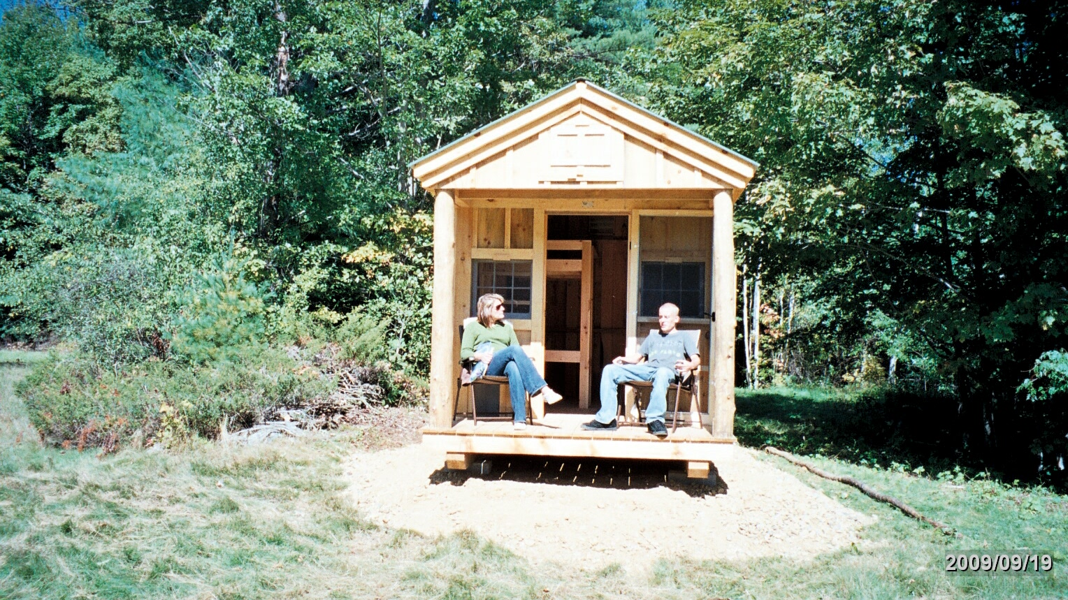 Building a small hunting camp hunting cabin plans and for Small camping cabin kits