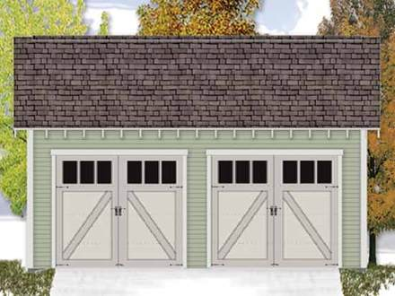 Bungalow House Plans 2 Car Garage Country House Plans